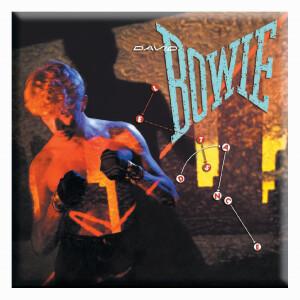 """David Bowie Let's Dance 3""""x3"""" Magnet"""