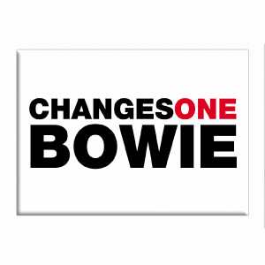 """David Bowie Changes One 2.5""""x3.5"""" Magnet"""