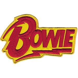 """David Bowie Logo 3.5""""x2.3"""" Patch"""