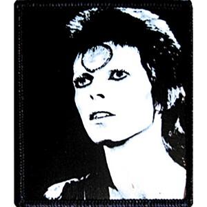 "David Bowie Black & White 2.75""x3.25"" Patch"