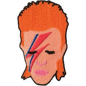 """David Bowie Aladdin Sane 2.5""""x4"""" Patch"""