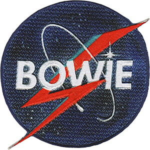 "David Bowie NASA Bolt 4.2""x3.5"" Patch"