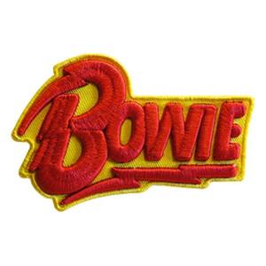 """David Bowie Bolt 4""""x2.6"""" 3D Patch"""