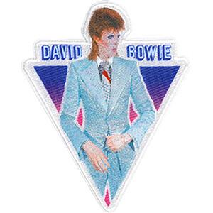 """David Bowie Blue Suit 3.3""""x4.1"""" Patch"""