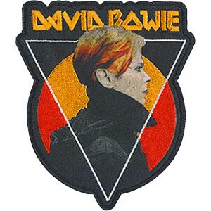 """David Bowie Triangle Sun 3.3""""x3.8"""" Patch"""