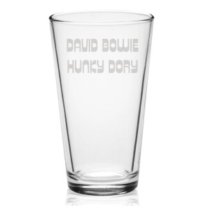 Hunky Dory Laser-Etched Pint Glass