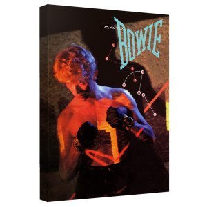 David Bowie/Let's Dance - Canvas Wall Art With Back Board - White - [20 X 30]