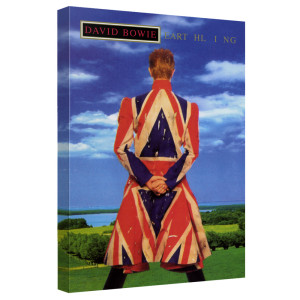 David Bowie/Earthling - Canvas Wall Art With Back Board - White [20 X 30]