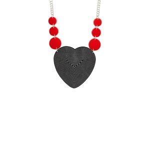 Ziggy Heart Necklace