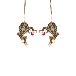 Bowie Tiger Necklace