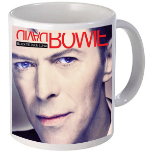 Black Tie White Noise Album Art Mug
