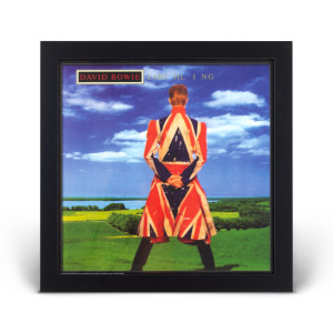 David Bowie Earthling Framed Photo