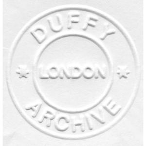 Duffy 'Aladdin Sane B/W Negative' Print (Mounted, Black)