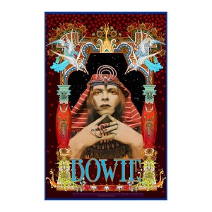 David Bowie Pharaoh Poster by Bob Masse