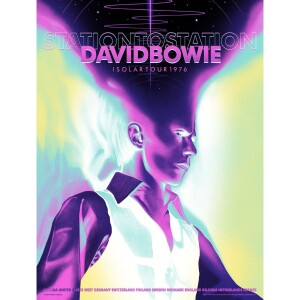 David Bowie 1976 Isolar Tour Poster (Variant Edition)