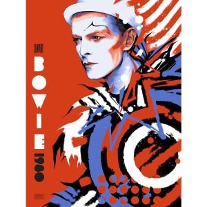 DAVID BOWIE 1980 GALLERY EDITION