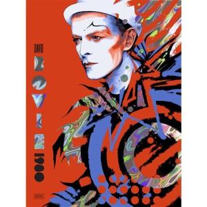 DAVID BOWIE 1980 HOLOGRAPHIC LAVA FOIL VARIANT