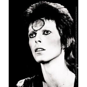 """David Bowie Black & White 4""""x5"""" Sticker"""