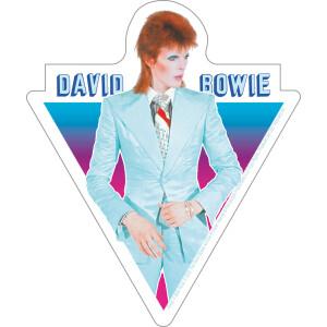 """David Bowie Blue Suit 4.2""""x5"""" Sticker"""