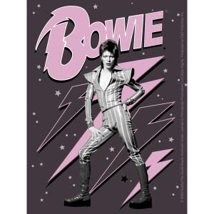 "David Bowie Pink Bolts 3.75""x5"" Sticker"