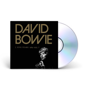 David Bowie Five Years 1969-1973 (12CD Boxed Set) CD