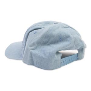 David Bowie Denim Snapback Hat