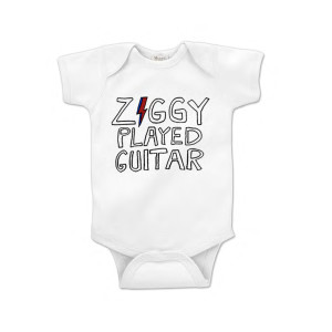 Ziggy Played Guitar Onesie
