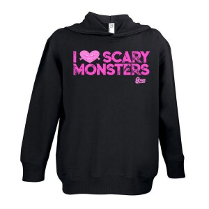 Scary Pink Monsters Youth Hoodie