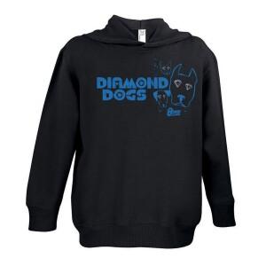 Blue Logo Diamond Eyes Youth Hoodie