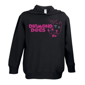 Pink Logo Diamond Eyes Youth Hoodie