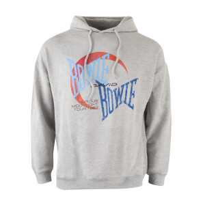 David Bowie Serious Moonlight Graphic Hoodie