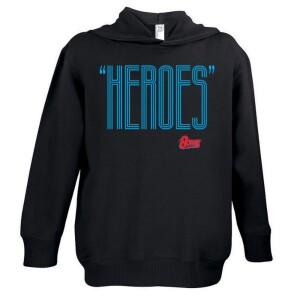 Heroes Red/Blue Youth Hoodie