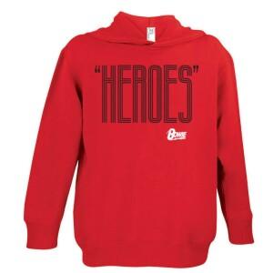 Heroes Black/White Youth Hoodie