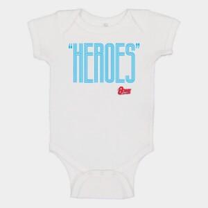 Heroes Blue/Red Onesie