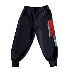 David Bowie Graphic Bolt Sweatpants