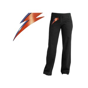 David Bowie Aladdin Sane Lightning Bolt Yoga Pants