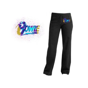 David Bowie Multicolor Logo Yoga Pants