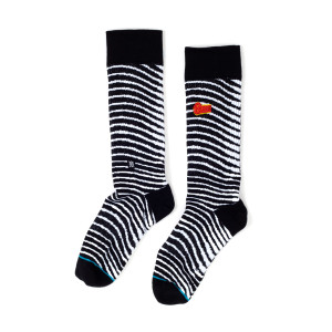 David Bowie - Striped Socks