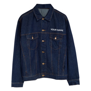 The Man Who Sold The World Personalized Jean Jacket