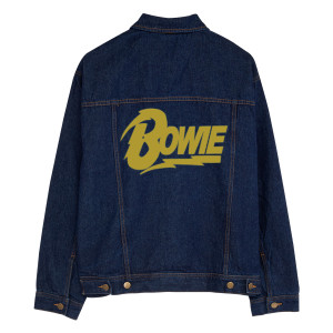Gold Logo Personalized Jean Jacket