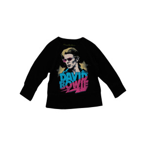 David Bowie Black Fleece Kids Sweatshirt