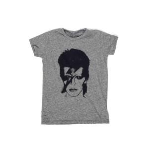 David Bowie Aladdin Sane Lauren Moshi Gray T-shirt