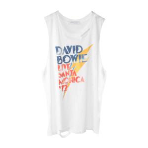 David Bowie White Live Santa Monica