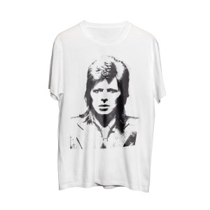 Bowie Face Silhouette Tee