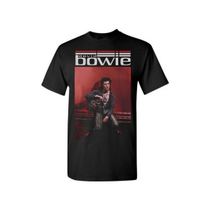 Bowie Holds Hunky Dory T-Shirt