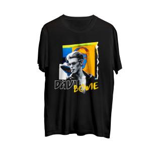 David Bowie Profile Black Photo T-shirt
