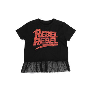 David Bowie Rebel Rebel Girls Shirt Dress