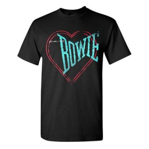 Love Bowie Outline T-shirt