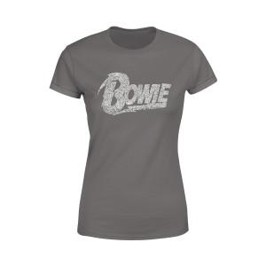 Bowie Glitter Logo T-shirt