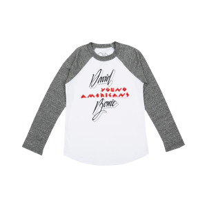 David Bowie Young Americans Youth Raglan